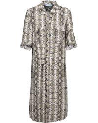 Melissa Odabash | Multicolor Paige Woven Shirt Dress | Lyst