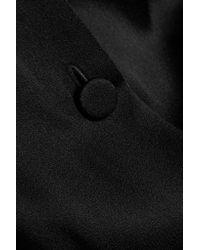Sonia Rykiel - Black Satin Jumpsuit - Lyst