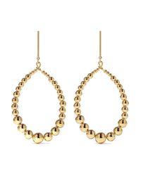 Kenneth Jay Lane   Metallic Gold-tone Earrings   Lyst