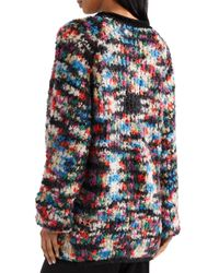 Missoni - Black Oversized Bouclé-knit Wool-blend Sweater - Lyst