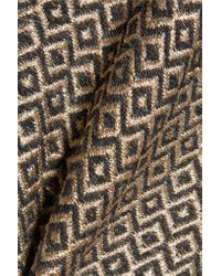 Haider Ackermann - Terry-paneled Metallic Jacquard Coat - Lyst