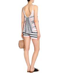 Lemlem - Multicolor Striped Cotton-blend Shorts - Lyst