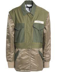 Rag & Bone Modular Convertible Cotton-canvas And Shell Jacket Army Green