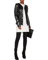 Rick Owens - Black Leather Jacket - Lyst