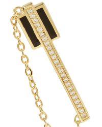 Noir Jewelry - Metallic Honey Balm Gold-tone, Crystal And Enamel Earrings - Lyst