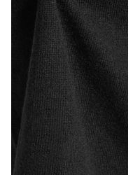 Joie | Black Tambrel Asymmetric Wool And Cashmere-blend Sweater | Lyst