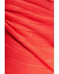 Hervé Léger Multicolor Bandage Gown