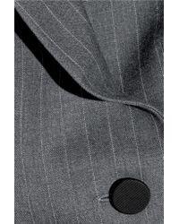 Pallas - Blue Junon Pinstriped Double-breasted Wool Blazer - Lyst