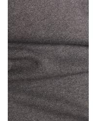 DKNY - Gray Silk-blend Sweater - Lyst
