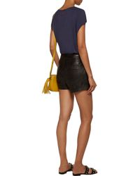 Camilla - L'afrique Bead-embellished Jersey T-shirt Midnight Blue - Lyst
