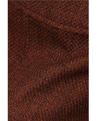 Marni - Brown Asymmetric Wool-blend Skirt - Lyst