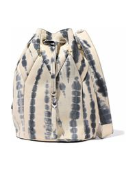 Jérôme Dreyfuss - Multicolor Popeye Printed Leather Bucket Bag - Lyst