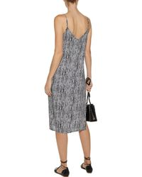Splendid | Black Printed Voile Dress | Lyst