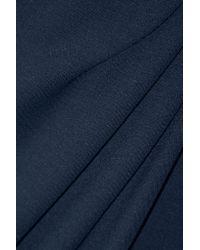 Jason Wu - Blue Wrap-effect Stretch-ponte Dress - Lyst