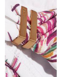 ViX - Pink Krishna Low-rise Printed Bikini Briefs - Lyst
