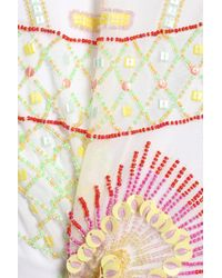 Antik Batik - White Mini Skirt - Lyst