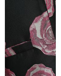 Ganni Turenne Brocade Jacket Black