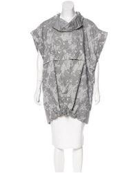 Adidas By Stella McCartney - Gray Longline Zip-up Jacket W/ Tags Grey - Lyst