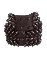 Balmain - Black Metal-embellished Waist Belt - Lyst