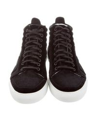 Del Toro - Black Velvet Boxing Sneakers W/ Tags for Men - Lyst