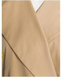 Givenchy - Natural Structured Short Coat Beige - Lyst