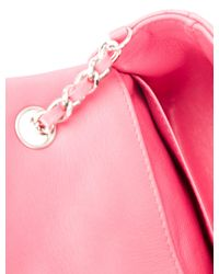 Chanel - Metallic Classic Extra Mini Flap Bag Pink - Lyst