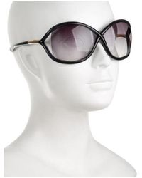 Tom Ford - Metallic Whitney Gradient Sunglasses Navy - Lyst