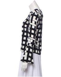 Piamita - Black Long Sleeve Printed Top - Lyst