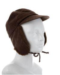 Bogner - Brown Suede Trapper Hat - Lyst