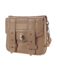 Proenza Schouler - Natural Leather Ps1 Wallet Tan - Lyst