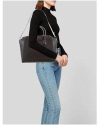 Givenchy - Metallic Medium Antigona Satchel Black - Lyst
