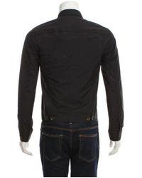 3.1 Phillip Lim - Black Lightweight Button-up Jacket for Men - Lyst