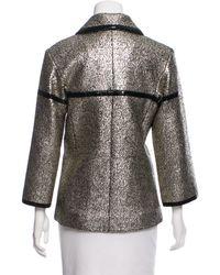 Chanel - Metallic 2016 Jacket W/ Tags Gold - Lyst