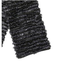 Marc Jacobs - Gray Tinsel Knit Scarf Grey - Lyst