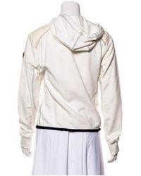 Moncler - Natural Zip-up Down Jacket Neutrals - Lyst