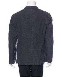 Rag & Bone - Blue Cotton Sport Coat for Men - Lyst