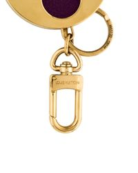 Louis Vuitton - Metallic Lv Posey Bag Charm Brass - Lyst