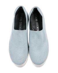 Opening Ceremony - Blue Cici Flatform Sneakers - Lyst