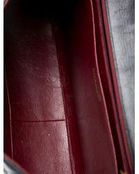 Chanel - Metallic Classic Maxi Single Flap Bag Black - Lyst