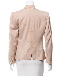 Sonia Rykiel - Natural Structured Wool Blazer Tan - Lyst