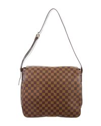 Louis Vuitton - Natural Damier Ebene Bastille Messenger Bag Brown - Lyst