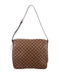 Louis Vuitton | Natural Damier Ebene Bastille Messenger Bag Brown | Lyst