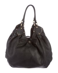 Louis Vuitton - Black Mahina Xl Hobo - Lyst