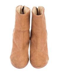 Rag & Bone - Brown Suede Newbury Ankle Boots - Lyst