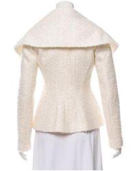 Giambattista Valli - White Mohair Casual Jacket W/ Tags - Lyst