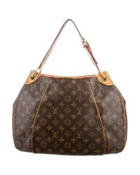 Louis Vuitton - Natural Monogram Galleria Pm Brown - Lyst