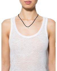Cartier - Metallic 18k Gold Heart Charm Silk Necklace Yellow - Lyst