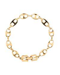 Givenchy - Metallic Link Bracelet Gold - Lyst
