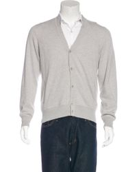 Loro Piana - Gray Roadster Light Cashmere Cardigan Grey for Men - Lyst