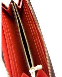 Louis Vuitton - Natural Monogram Clemence Wallet Brown - Lyst